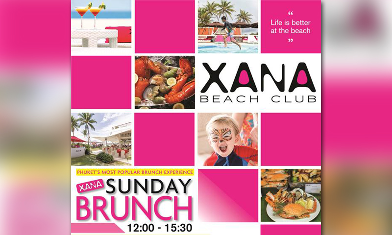 XANA Sunday Brunch at Angsana Laguna Phuket