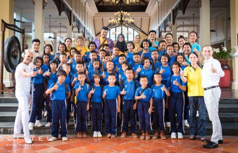 Sofitel Krabi hosted underprivileged children for Christmas tree lighting