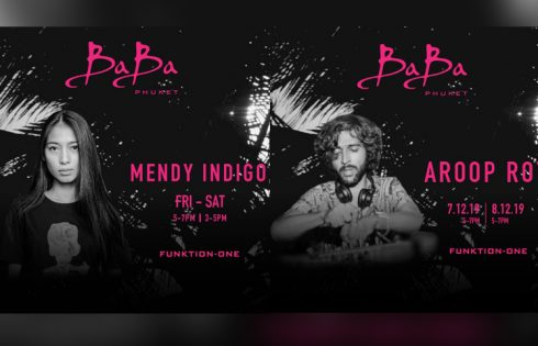Baba Beach Club Phuket presents Mendy Indigo & Aroop Roy