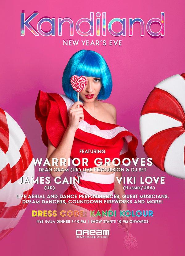 Dream Beach Club pres 'KANDILAND New Year's Eve' - TUE 31 DEC 19