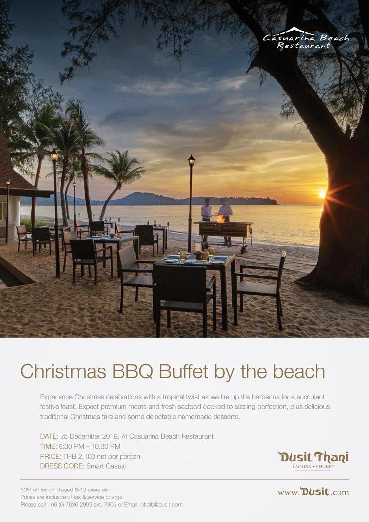 Festive Dining Promotion 2019-2020, Dusit Thani Laguna Phuket