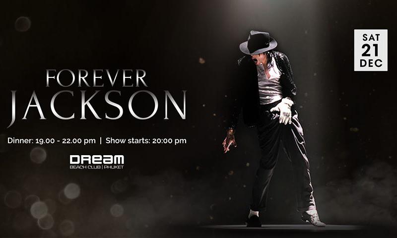 Forever Jackson Tribute Show – Sat 21 Dec 2019