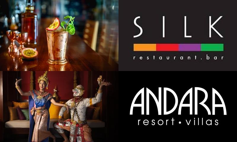 Enjoy our weekly festivities, SILK Restaurant & Bar