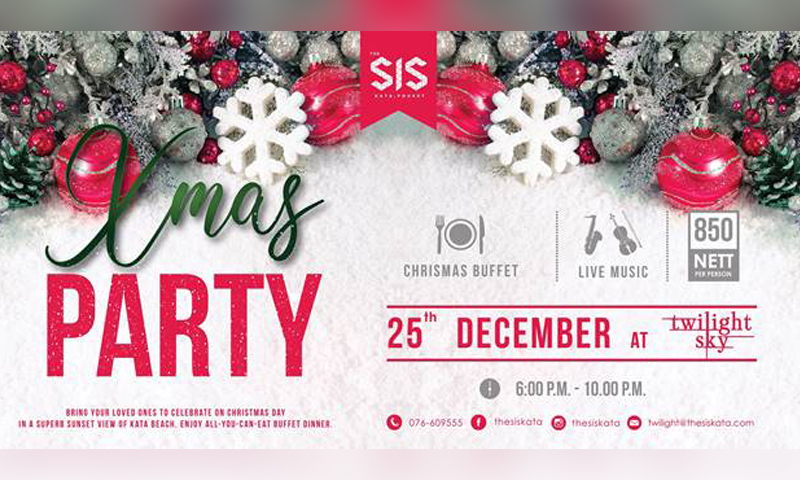 X'Mas Party at The SIS Kata!