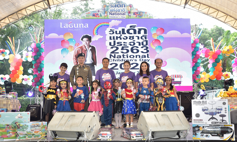 Laguna Phuket Invites All to Celebrate National Children's Day 2020 at Laguna Grove