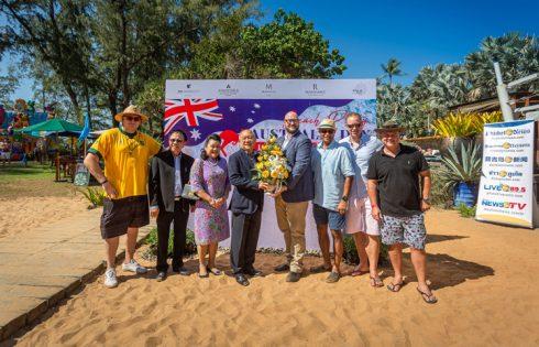 Destination Mai Khao Beach Group hosted Phuket's biggest 'Australia Day' Celebrations