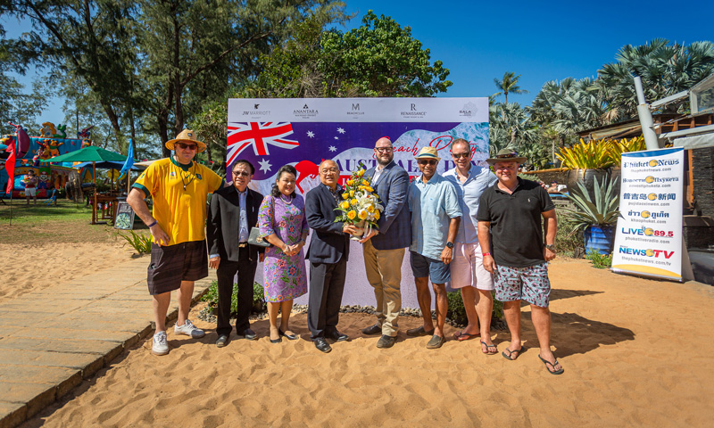 Destination Mai Khao Beach Group hosted Phuket's biggest 'Australia Day' Celebrations