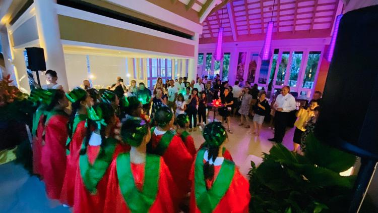 Christmas Light up event at Angsana Laguna Phuket