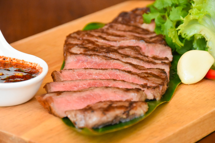 "Monthly Special Menu: ""Grilled Beef Sirlon with Thai spicy sauce"" , Deevana Patong Resort & Spa"