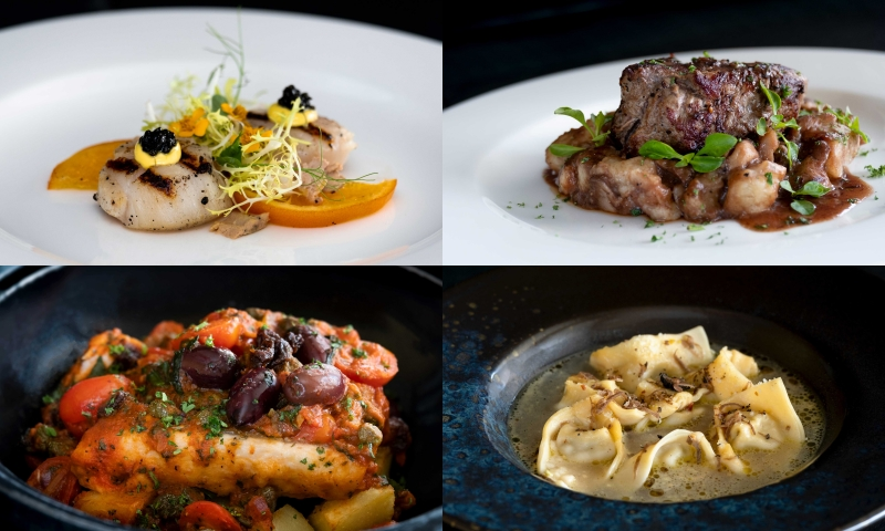 Celebrate the start of 2020 with La Gritta's festive menus