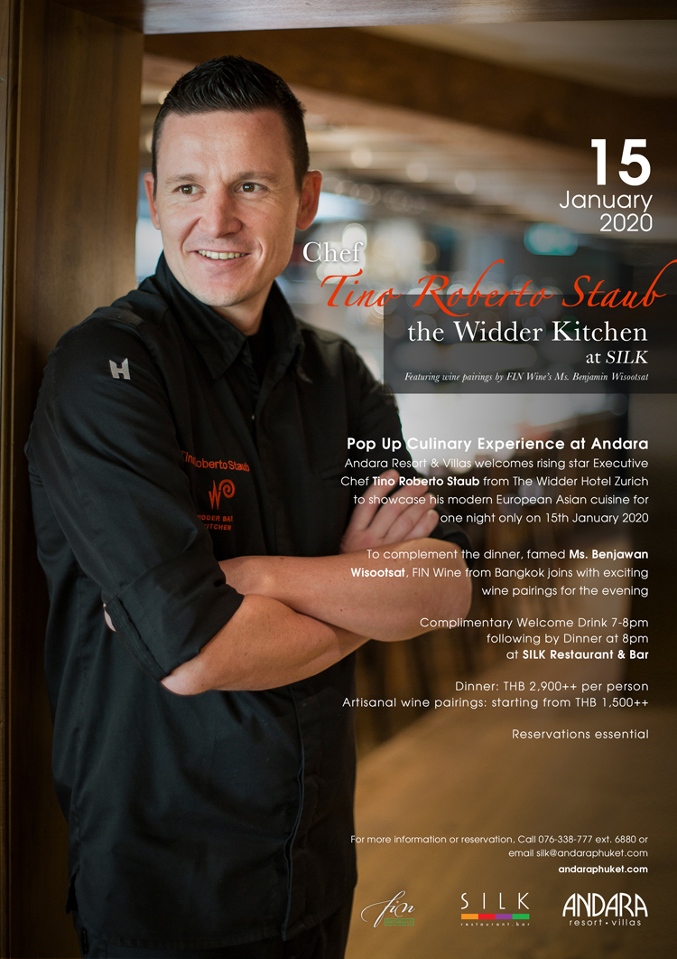 The Widder Kitchen at SILK on 15th January, 2020