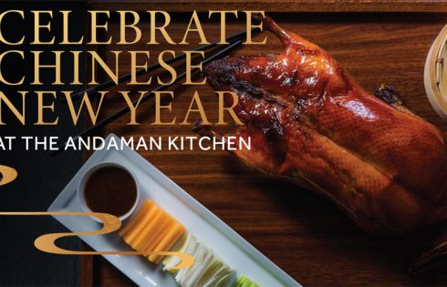 Celebrate Chinese New Year at The Andaman Kitchen