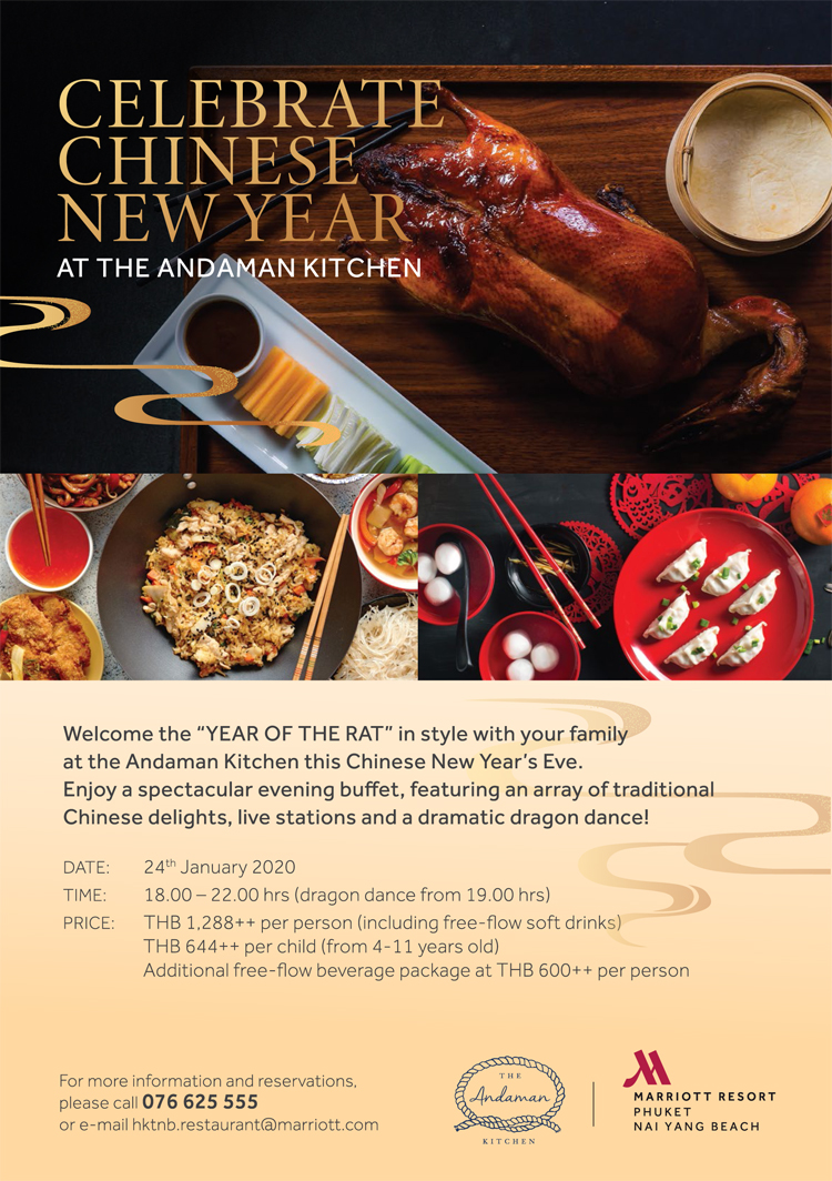 Celebrate Chinese New Year at The Andaman Kitchen