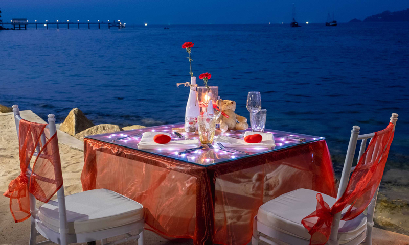 Experience the taste of love on Valentine's day at Rim Talay
