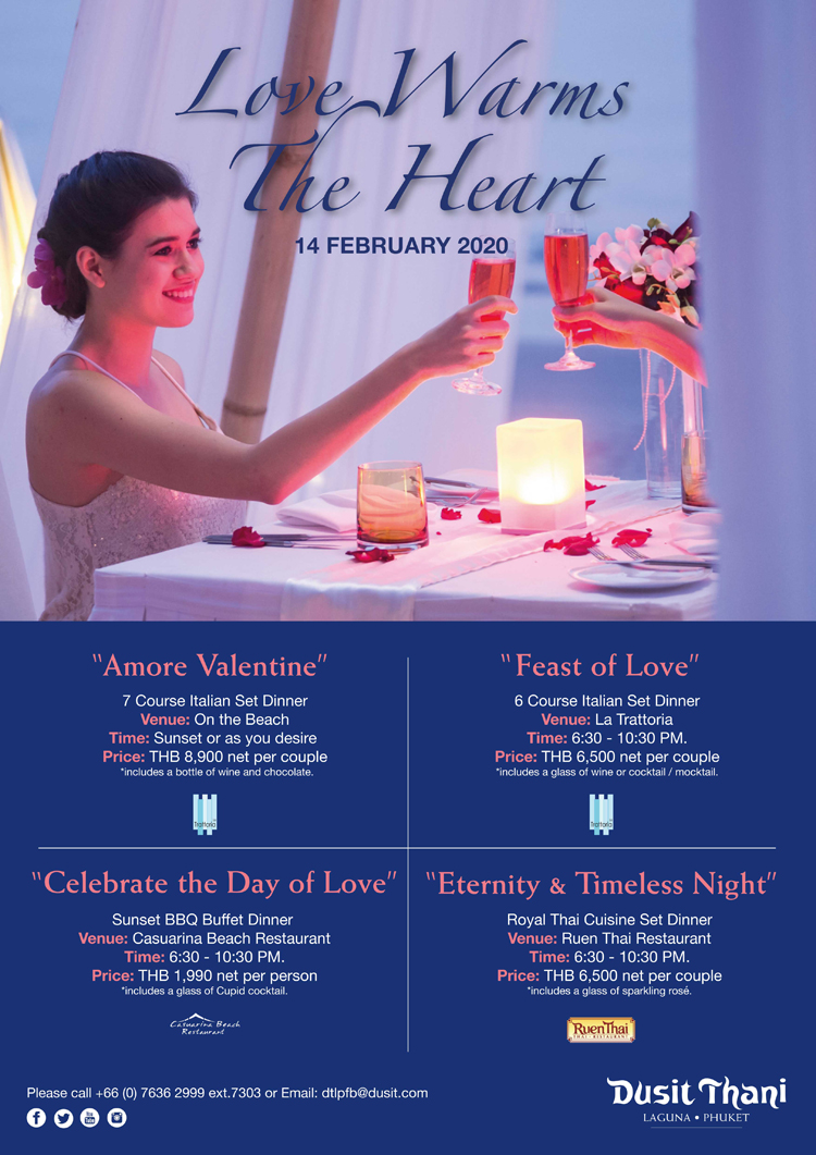Love Warms The Heart, Dusit Thani Laguna Phuket