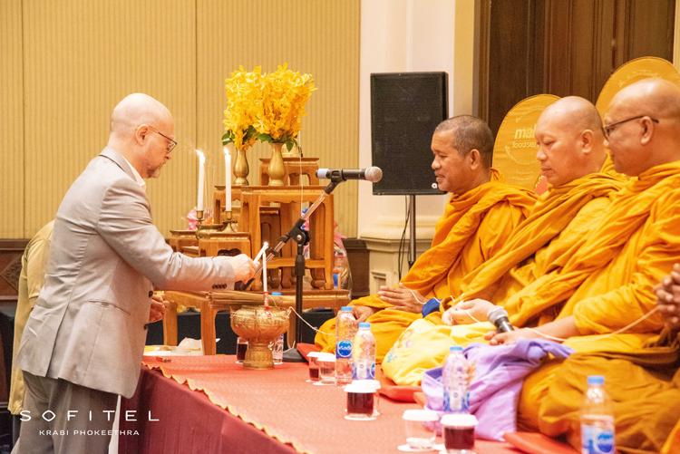 Sofitel Krabi Phokeethra Celebrates 13th Anniversary with Religious Ceremonies