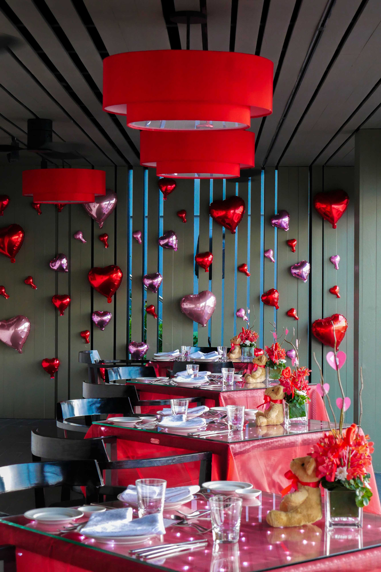 Valentine's Day dining experience at La Gritta