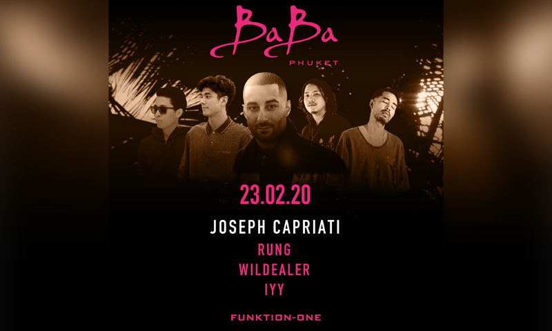 Baba Beach Club Phuket presents Joseph Capriati