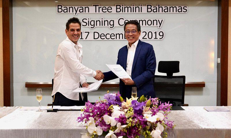 Island Developers and Banyan Tree Hotels & Resorts announce partnership