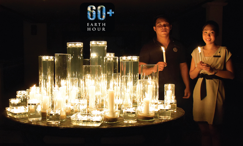 JW Marriott Phuket supports Worldwide Earth Hour Movement