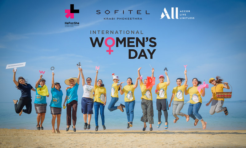 "Sofitel Krabi Celebrates International Women's Day With the Theme of ""Dare for All"""