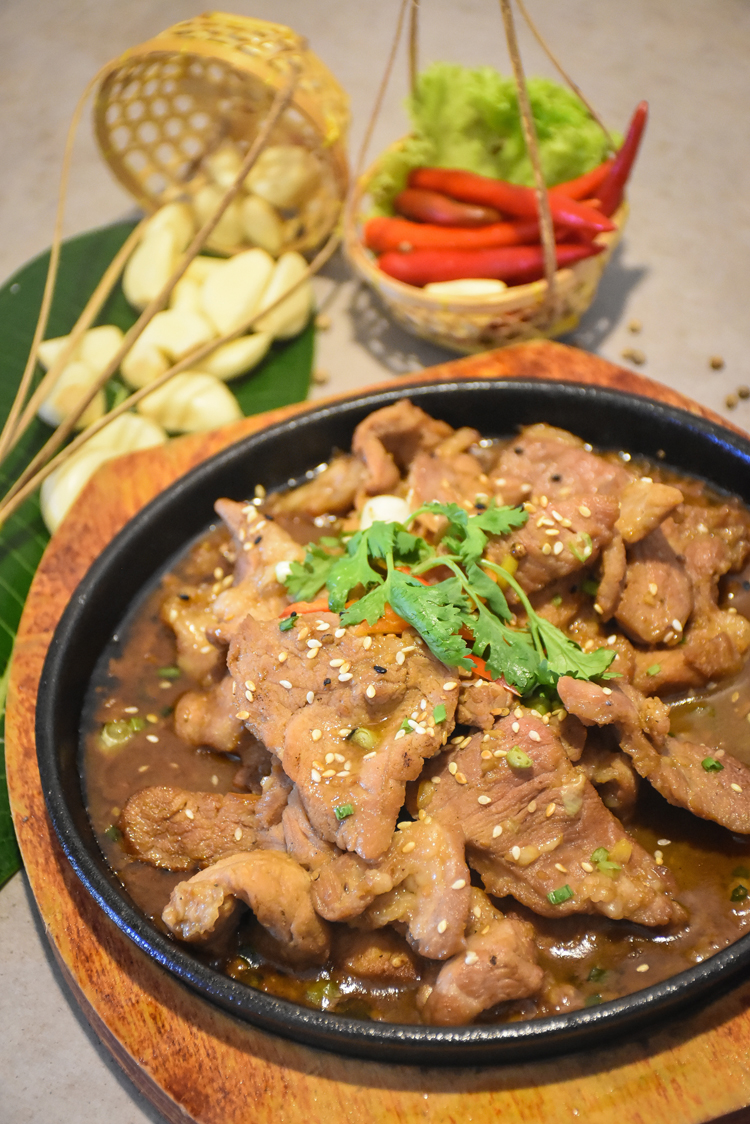 "Monthly Promotion ""Sesame Pork Hot Pan"""