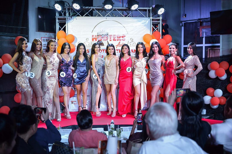 Natcha from Phuket Crowned Miss Hooters Thailand 2020