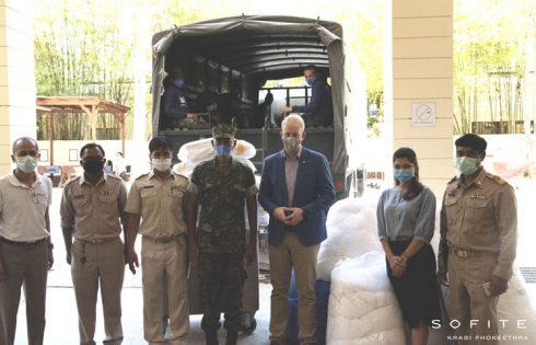 Sofitel Krabi Donation for Field Hospital Set-Up