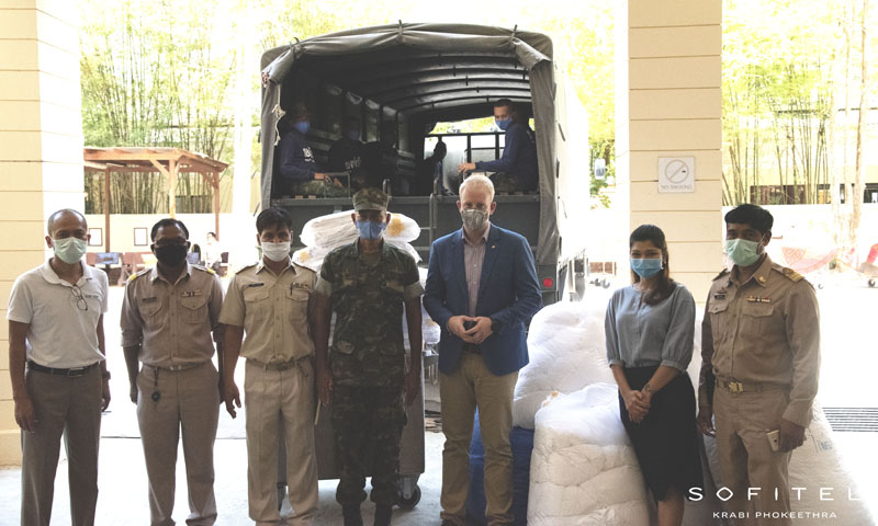 Sofitel Krabi Donation for Field Hospital Set-Up