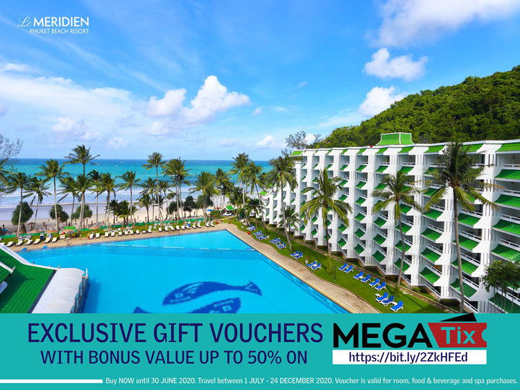 "Exclusive gift vouchers ""Le Méridien Phuket Beach Resort"""