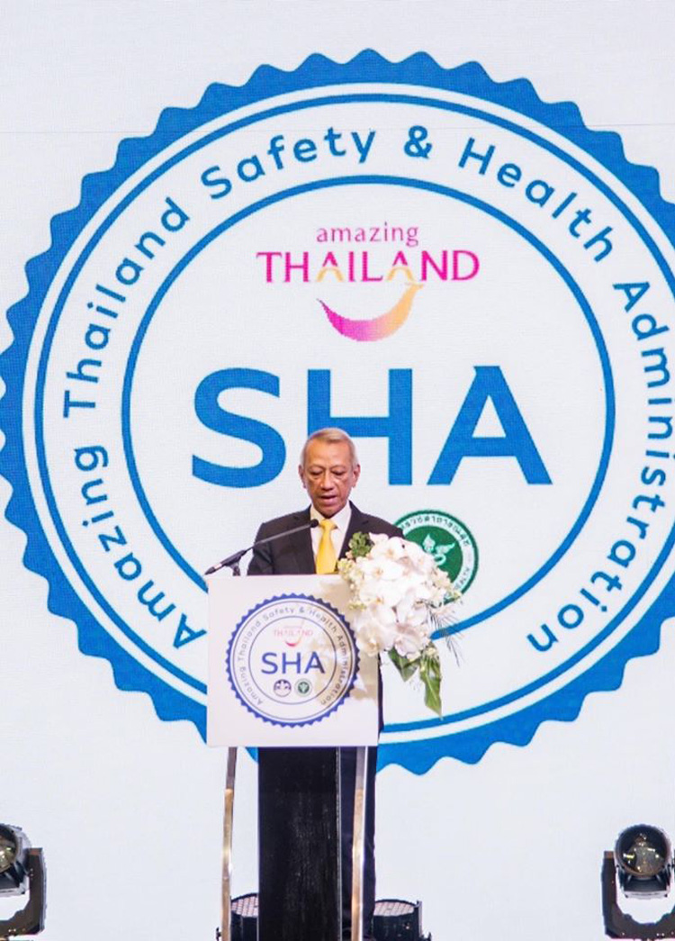 Amazing Thailand 'SHA' Will Be Thailand's New Standards of Hygiene, Sanitation, and Safety for Businesses and Tourism