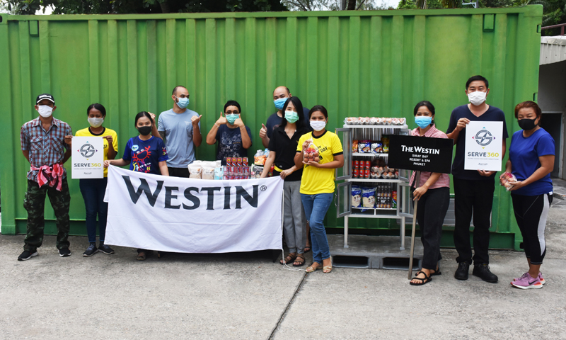 "Westin Siray Bay Resort & Spa Phuket launches ""Pantry of sharing"""