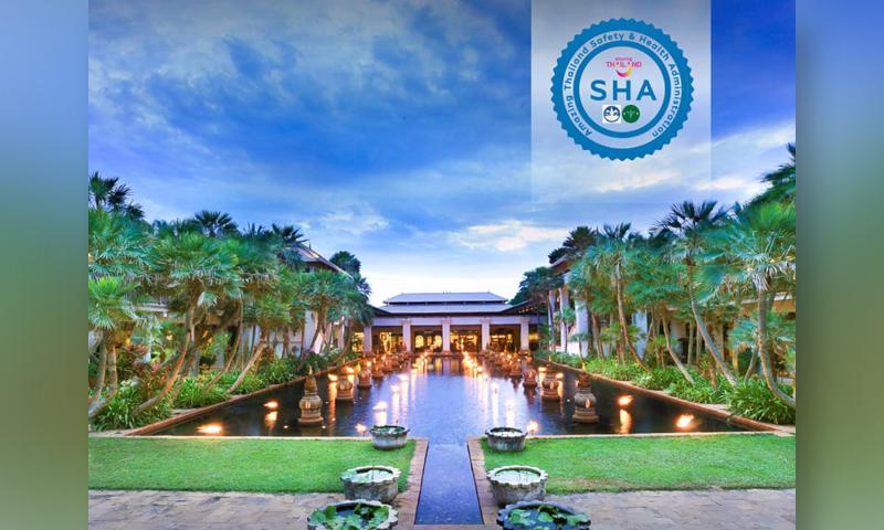 JW Marriott Phuket have received the Safety and Health Administration (SHA) Certificate