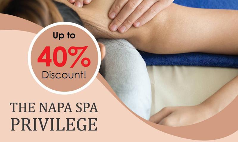 The Napa Spa  Privilege, The Naka Phuket