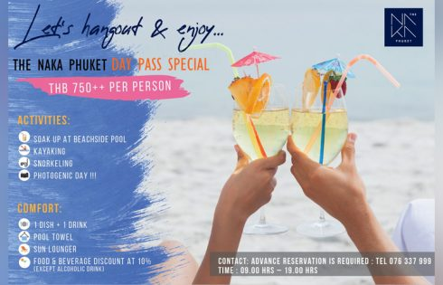 Exclusive deal for one-day pass at The NAKA Phuket