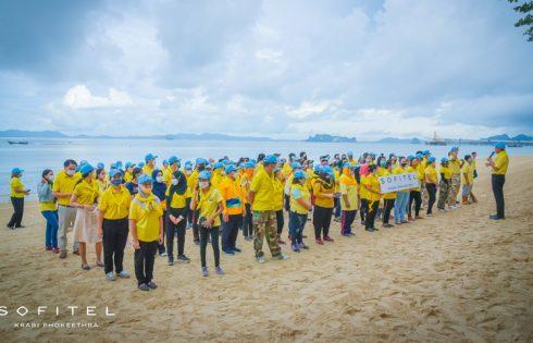 Sofitel Krabi Phokeethra Golf & Spa Resort joins in to Clean up the Beach