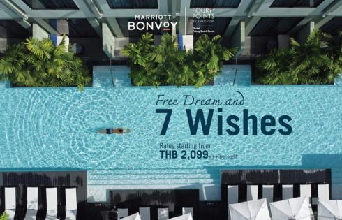 "Enjoy ""Free Dreams, 7 Wishes"" at Four Points by Sheraton Phuket Patong Beach Resort"