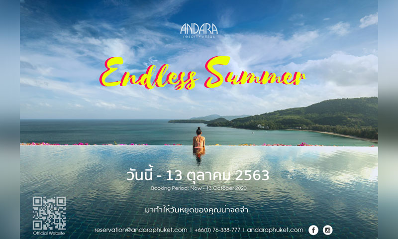 Endless Summer at Andara: Thai Residents & Thai Work Permit Holders