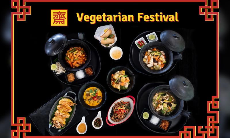 Amari Phuket partakes in Vegetarian Festivall by offering must-try vegetarian dishes
