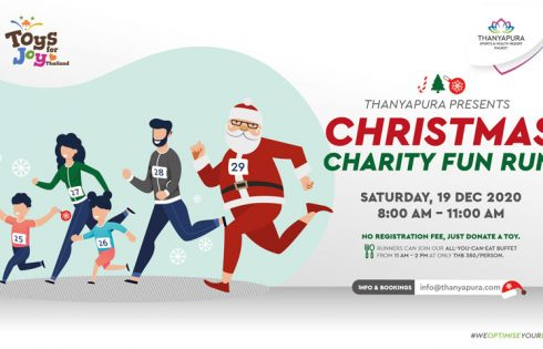 Christmas charity fun run, Thanyapura Phuket