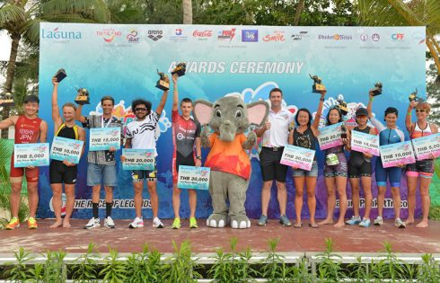 International Duo Stride to Success at the 27th Laguna Phuket Triathlon