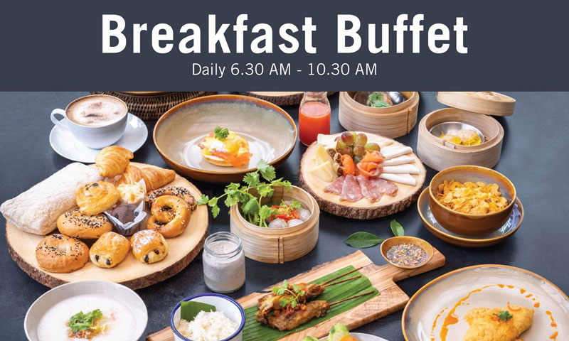 Breakfast buffet @Chao Leh Kitchen, Four Points by Sheraton Phuket Patong Beach Resort