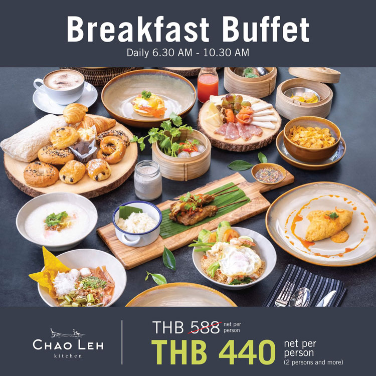Breakfast buffet @Chao Leh Kitchen, Four Points by Sheraton Phuket Patong Beach Resort