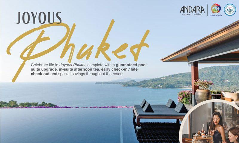 Joyous Phuket!! Andara Resort & Villas