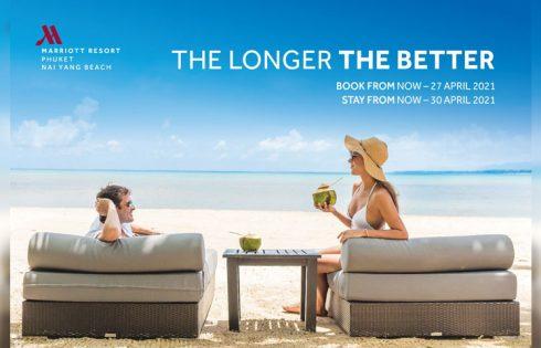 """The Longer The Better"" promotion – Phuket Marriott Resort and Spa, Nai Yang Beach"