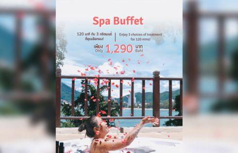 Spa Buffet at Breeze Spa, Amari Phuket