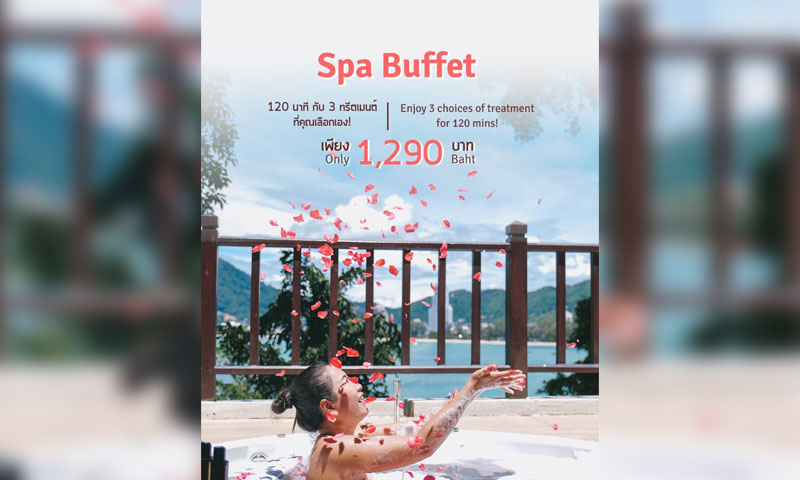 Spa Buffet at Breeze Spa, Amari Phuket