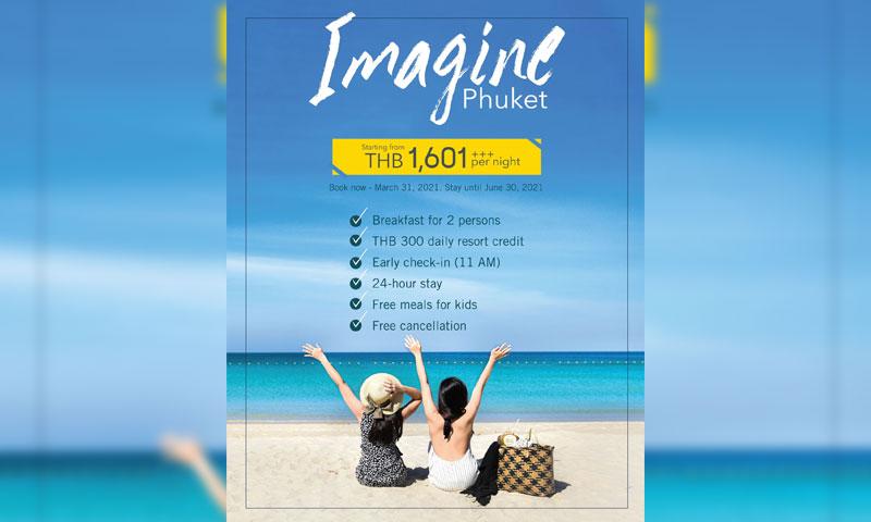 HOTEL DEAL: Imagine Phuket, Four Points Phuket