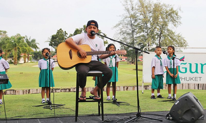 Labanoon's Metee Arun Performs Live at Laguna Phuket with Extra Special Local Support