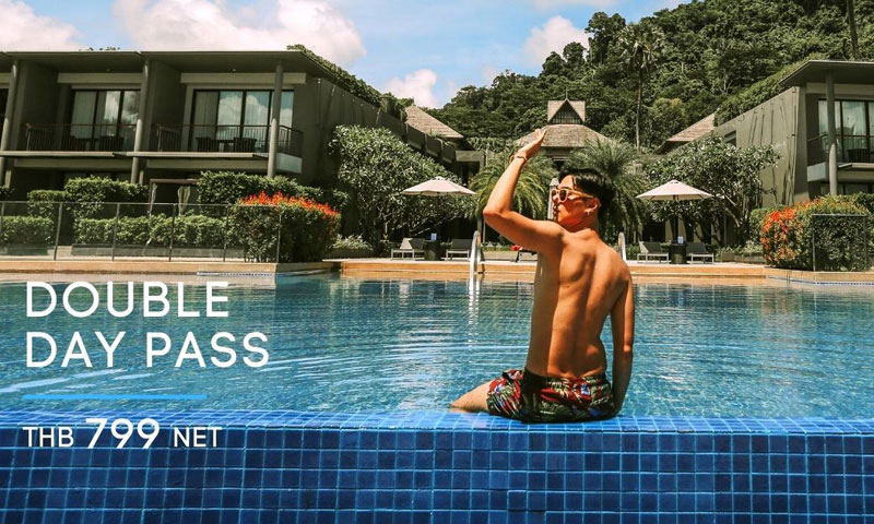 Double Day Pass! Phuket Marriott Resort and Spa, Nai Yang Beach